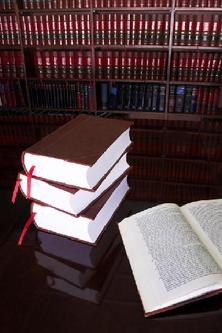 Stack of Legal Books - Family Law